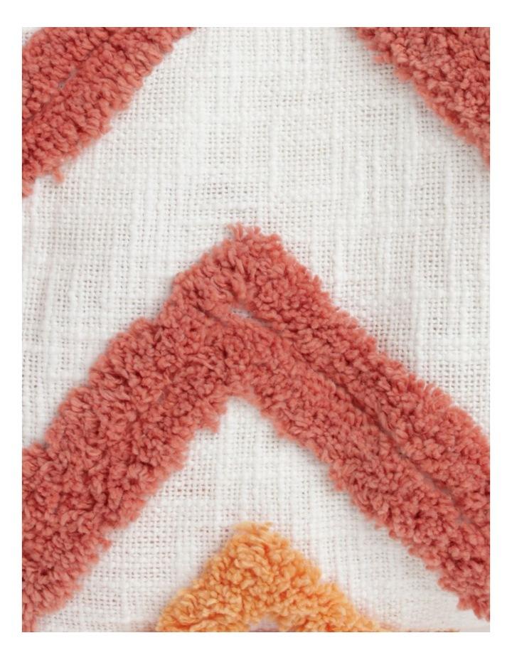 Vue Riverland Turfet Diamond & Zigzag Cotton Throw in Pink image 3
