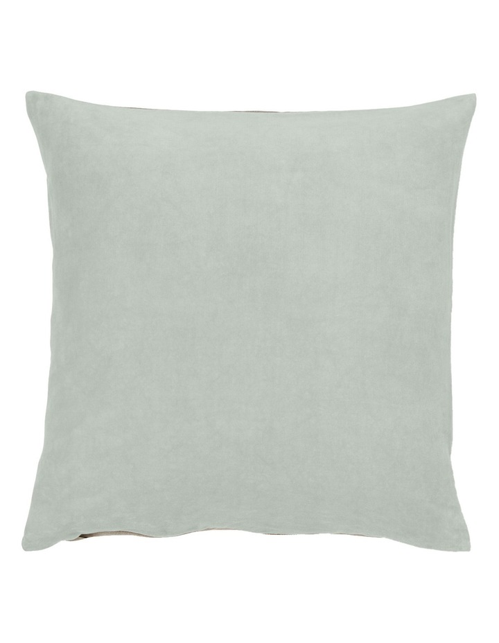 Luxury Velvet Cushion in Mist image 1