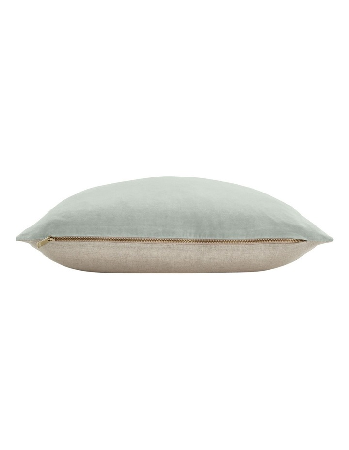 Luxury Velvet Cushion in Mist image 2