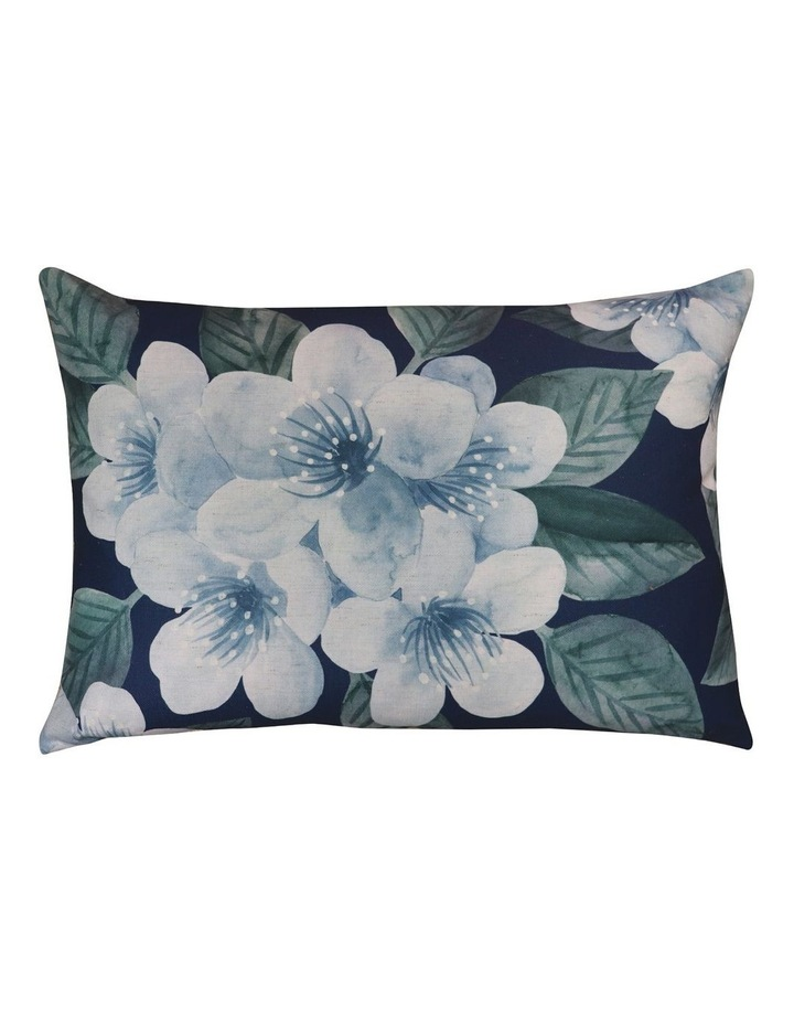 Floret Cushion- Blue 40x60cm image 1