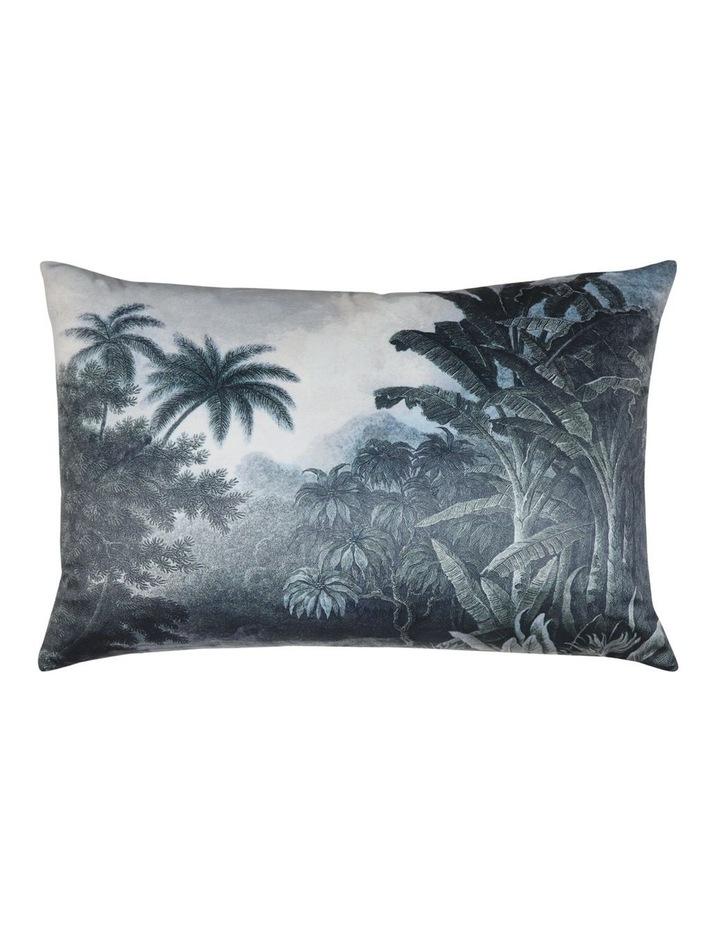 Santiago Velvet Cushion- Grey 40x60cm image 1