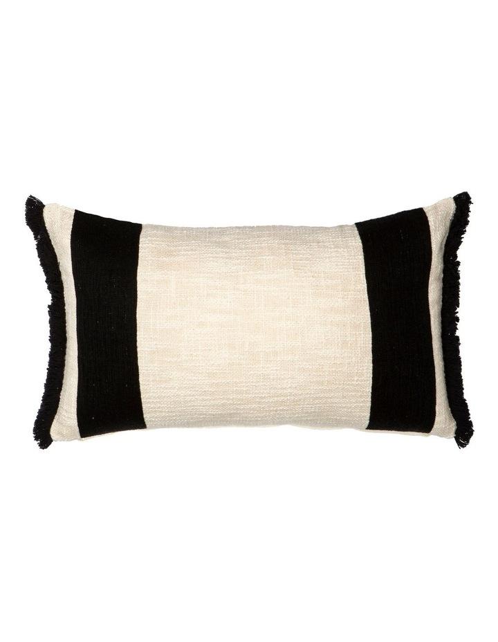 Winslow Cushion Cream/Black image 1