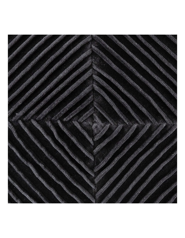 KAS Milano Cushion in Charcoal: 50x50cm image 1
