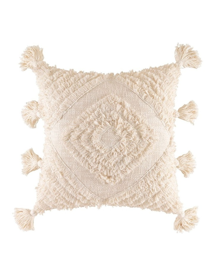 KAS Daffie Square Cushion in Natural: 50x50cm image 1