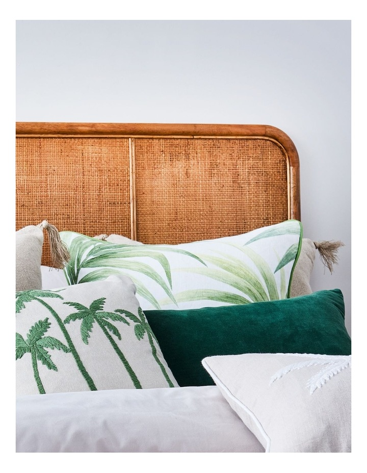 Madras Link Aruba Green Cushion 55cm x 55cm image 2