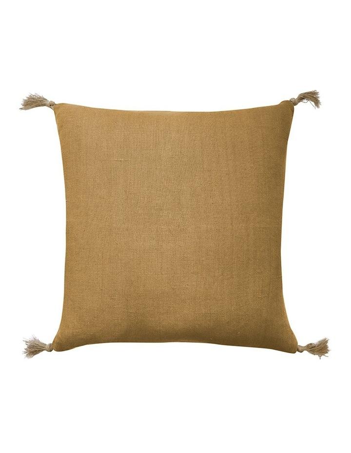 Madras Link Goa Mustard Cushion 55cm x 55cm image 1