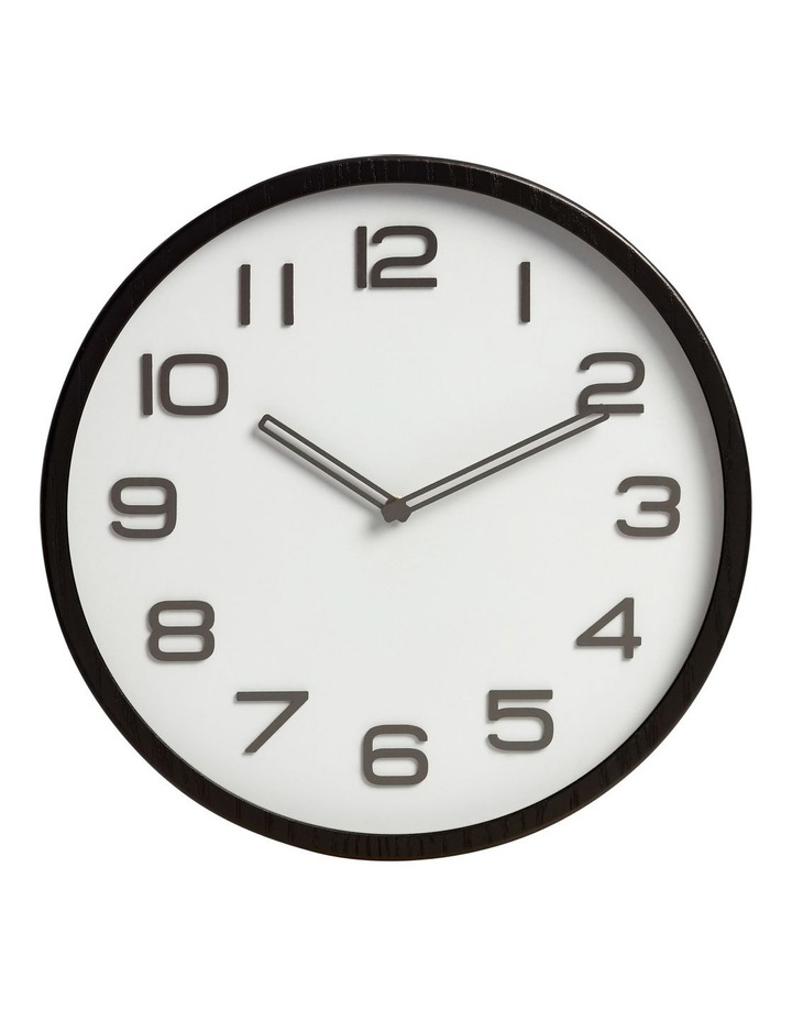 Glacier Wall Clock in Grey 40cm image 1