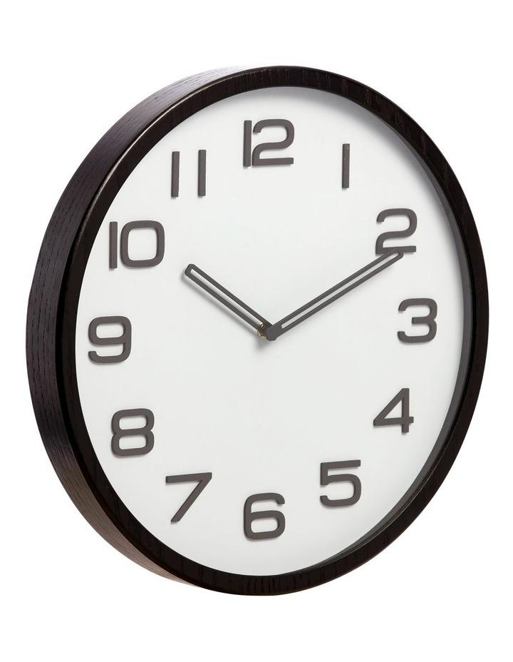 Glacier Wall Clock in Grey 40cm image 2