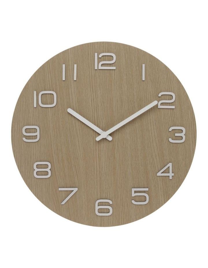 Whitewash Wall Clock 40cm image 1
