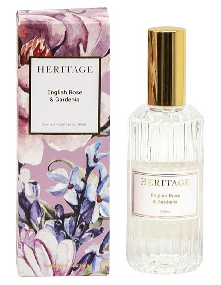 English Rose & Gardenia Room Spray 100ml image 1