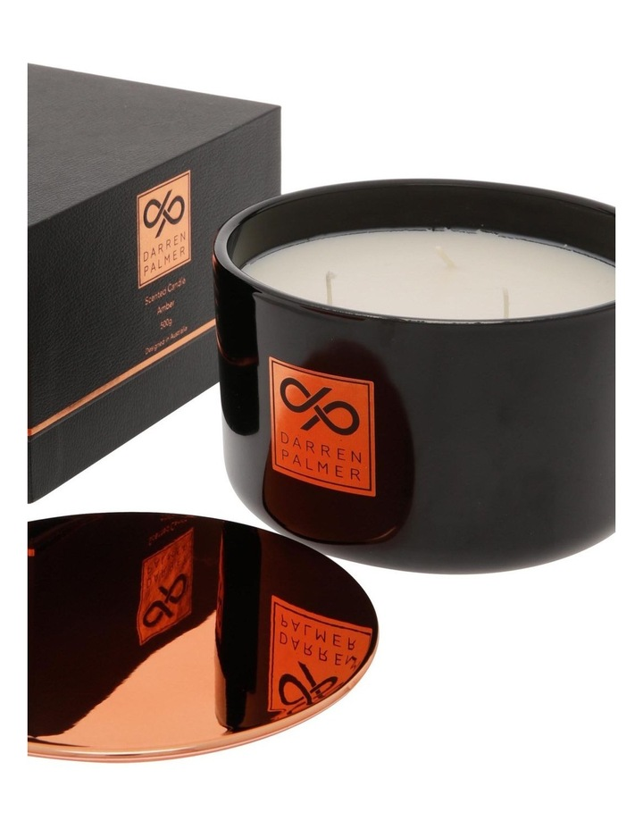 Amber Candle 500g image 3