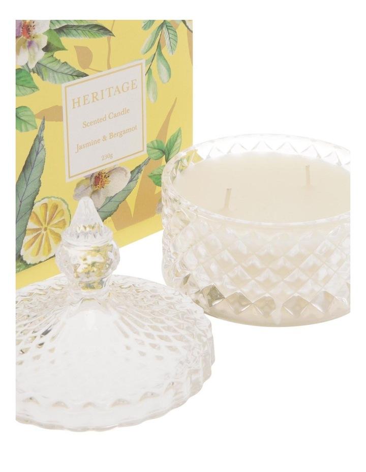 Jasmine & Bergamot Candle 230g image 2