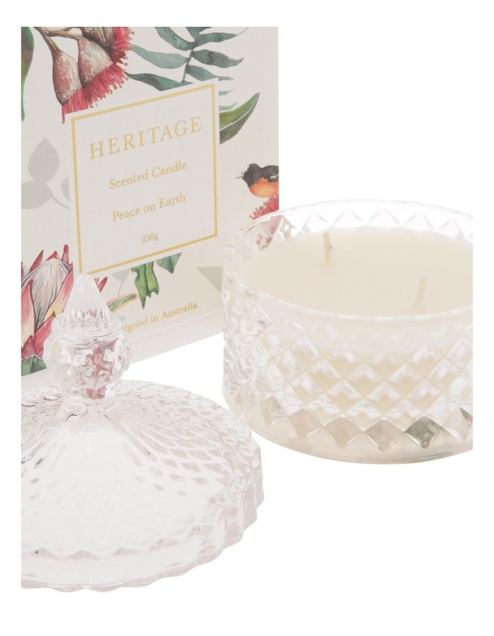 Peace on Earth Christmas Candle - 230g image 2