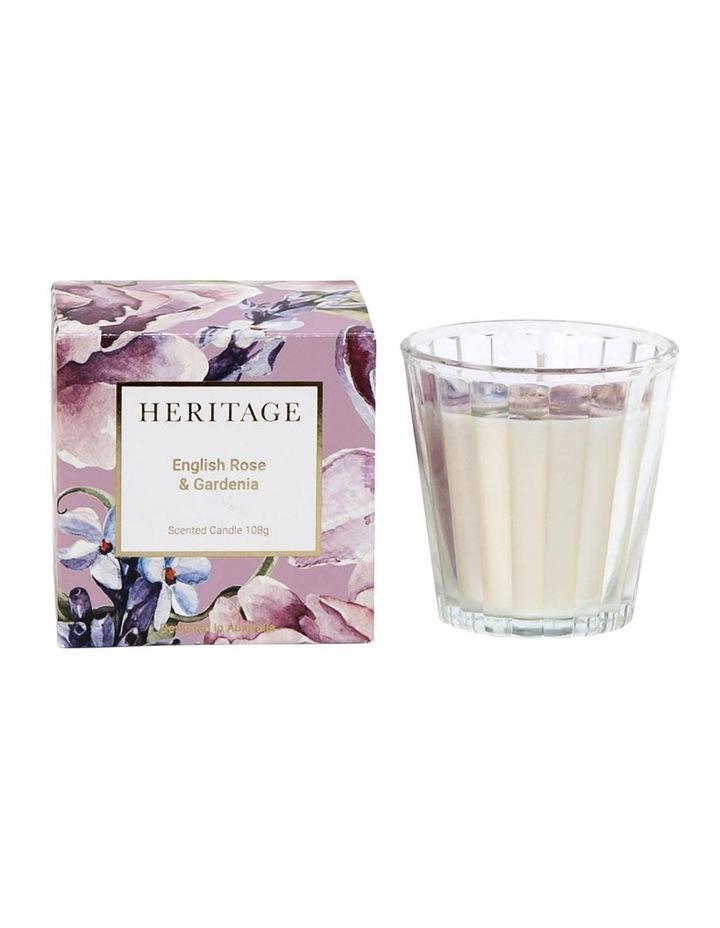 English Rose & Gardenia Candle 108g image 1