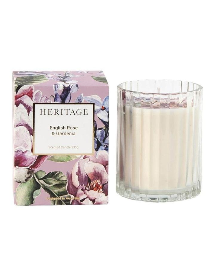 English Rose & Gardenia Candle 235g image 1