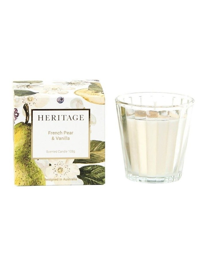 French Pear & Vanilla Candle 108g image 1