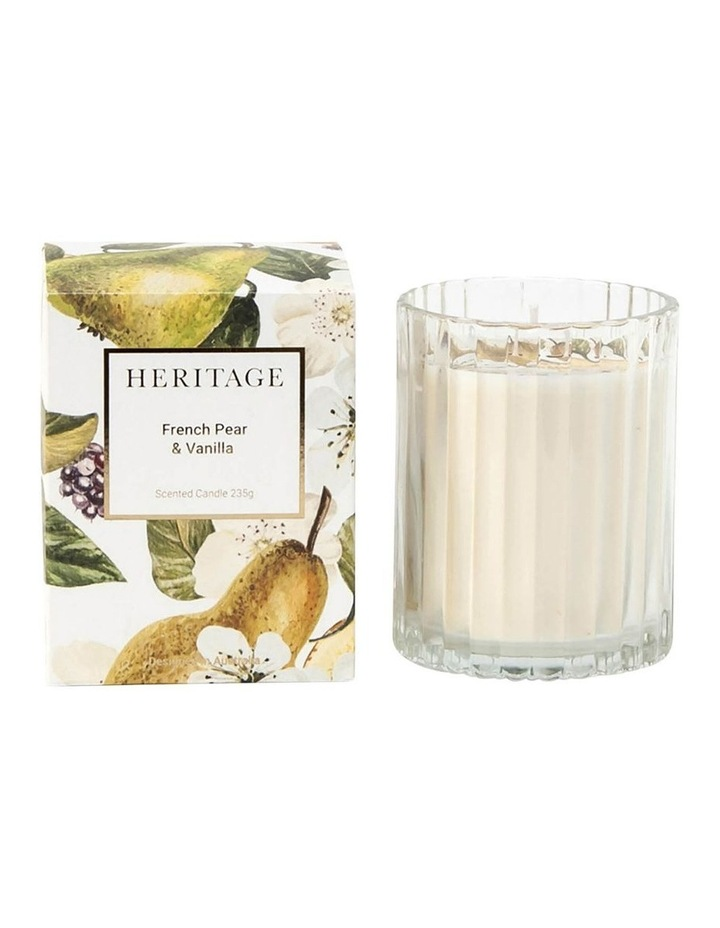 French Pear & Vanilla Candle 235g image 1