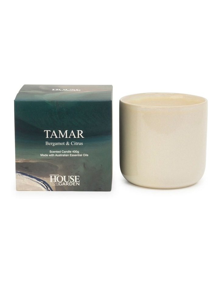 Tamar Bergamont & Citrus Candle 400g image 1