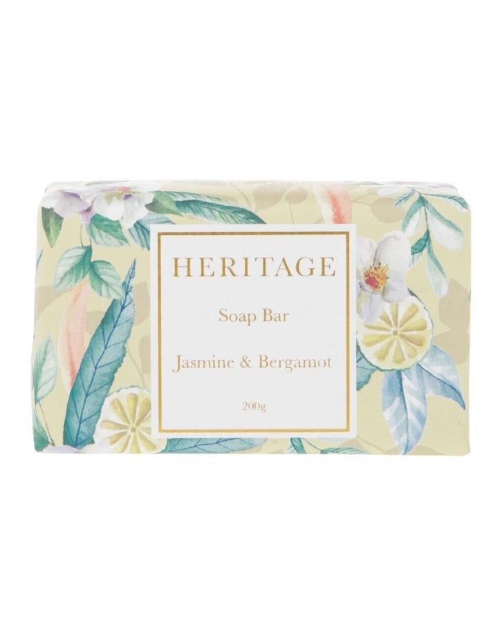 Jasmine & Bergamot Soap Bar 200g image 1