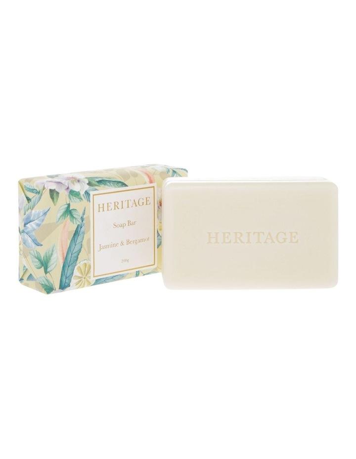 Jasmine & Bergamot Soap Bar 200g image 2