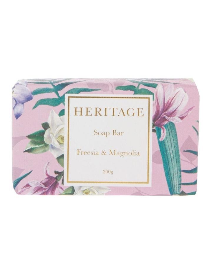 Freesia & Magnolia Soap Bar 200g image 1