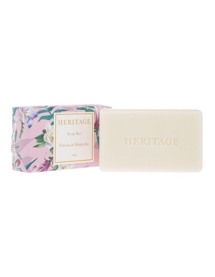 Freesia & Magnolia Soap Bar 200g image 2