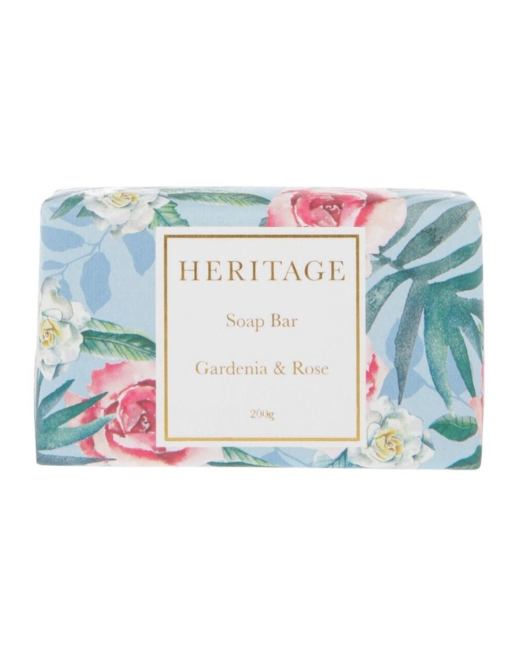 Heritage Gardenia & Rose Soap Bar image 1
