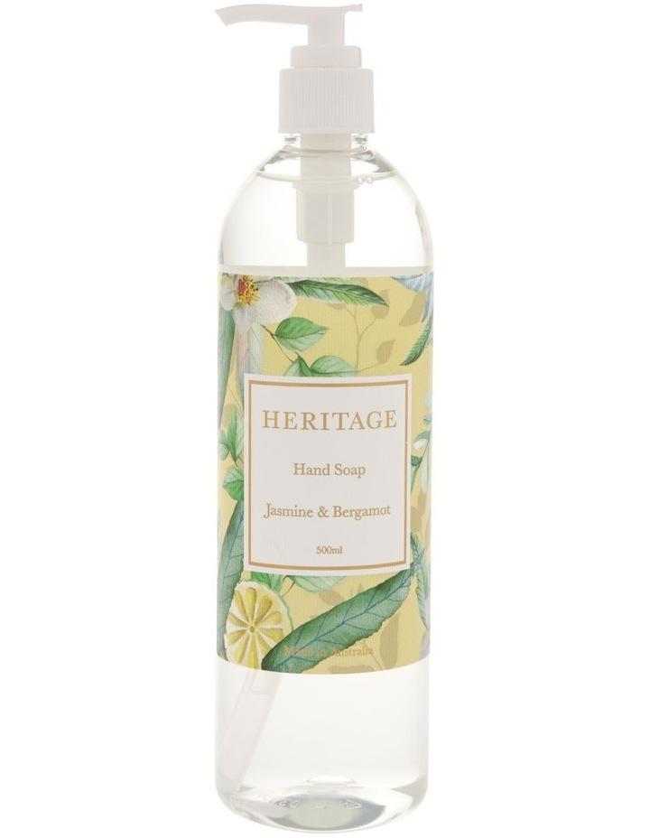 Jasmine & Bergamot Hand Soap 500ml image 1