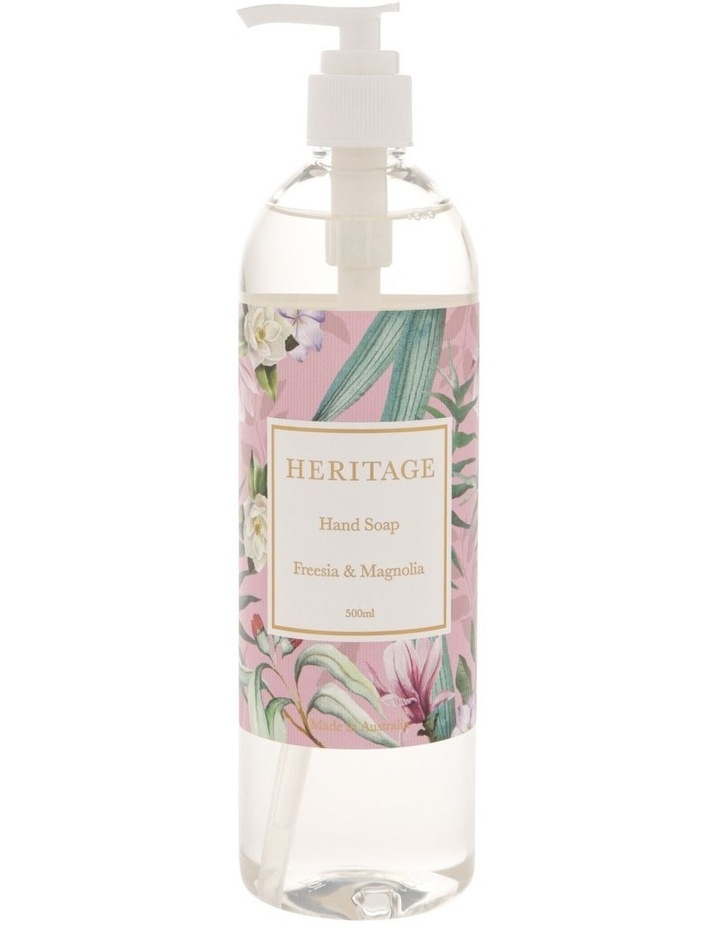 Freesia & Magnolia Hand Soap 500ml image 1