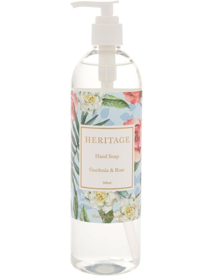 Gardenia & Rose Hand Soap 500ml image 1