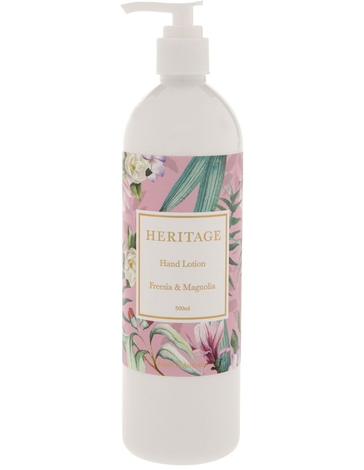 Freesia & Magnolia Hand Lotion 500ml image 1