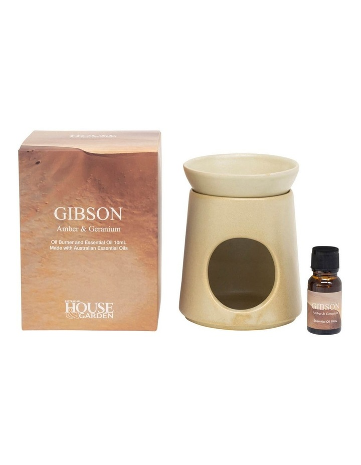 Gibson Amber & Geranium Oil Burner image 1