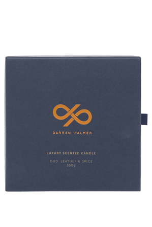 Darren Palmer - Oud  Leather & Spice Fragrance Candle
