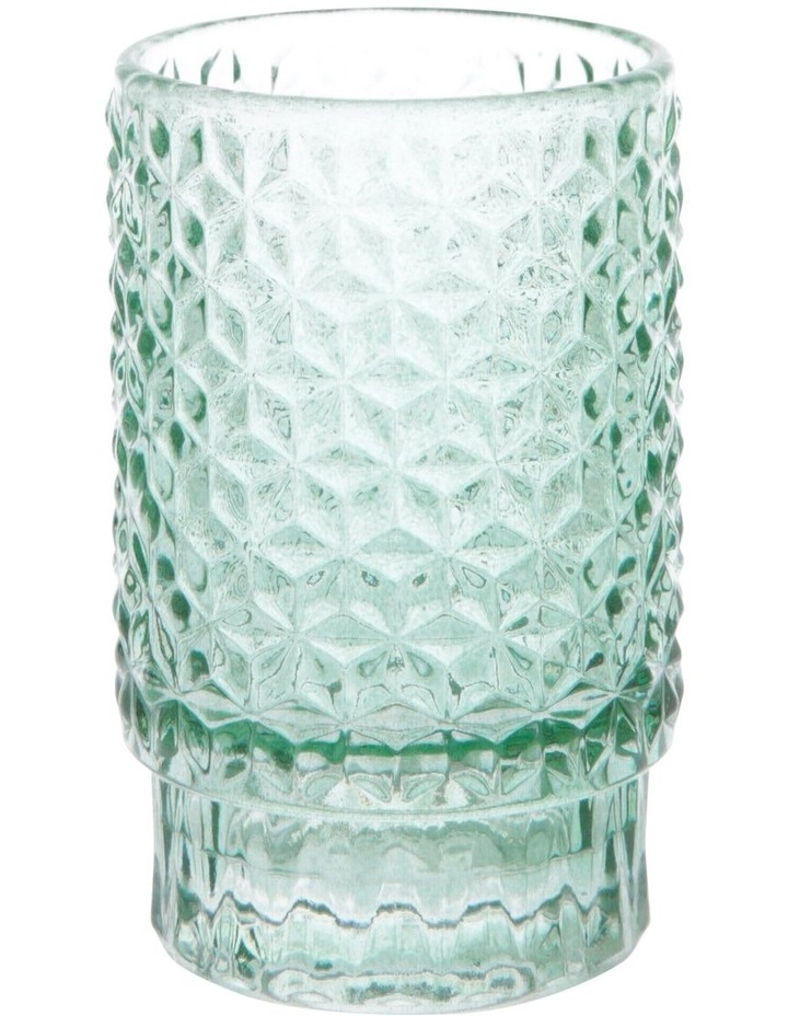 Cayman Turquoise Tea-Light Holder 10cm image 1