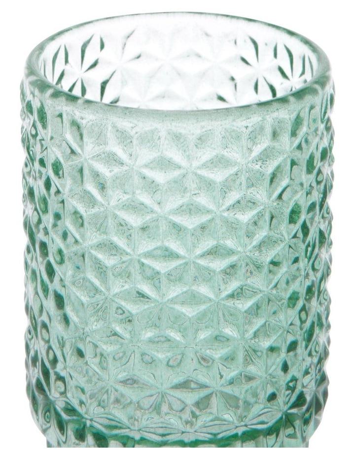 Cayman Turquoise Tea-Light Holder 10cm image 2