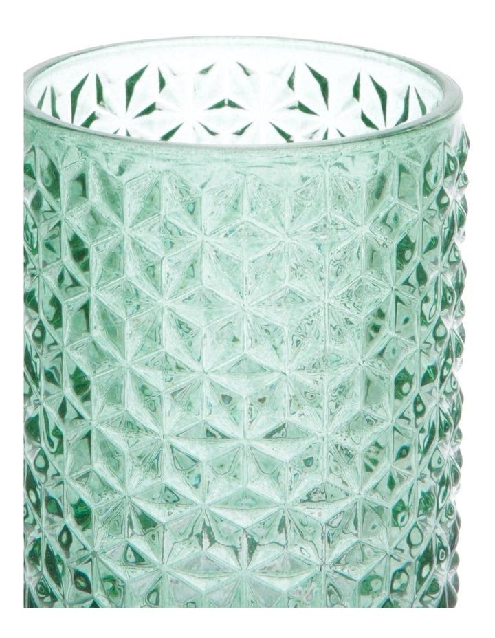 Cayman Turquoise Tea-Light Holder 13cm image 2