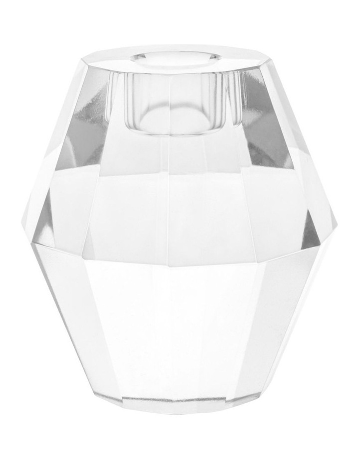Montalto Clear Glass Candle Holder 9cm image 1