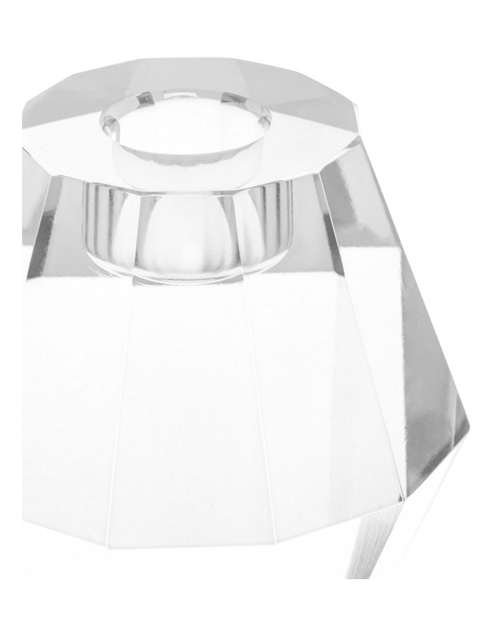 Montalto Clear Glass Candle Holder 9cm image 2