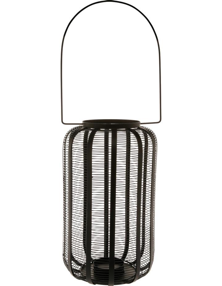 Iron Wire Lantern Black 40.5cm image 1