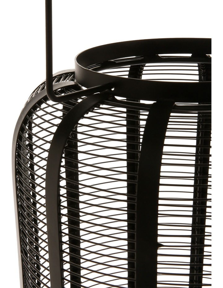 Iron Wire Lantern Black 40.5cm image 2