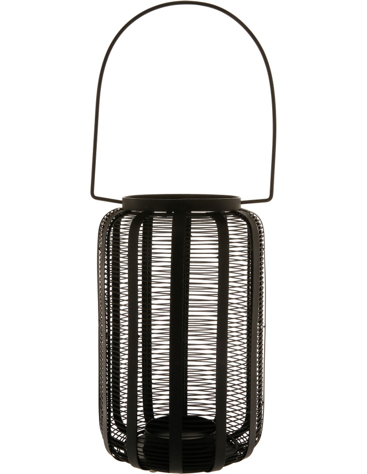 Iron Wire Lantern Black 28.5cm image 1
