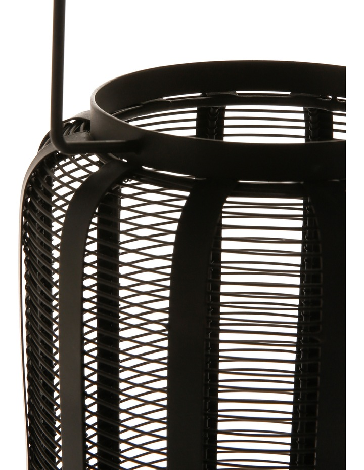 Iron Wire Lantern Black 28.5cm image 2