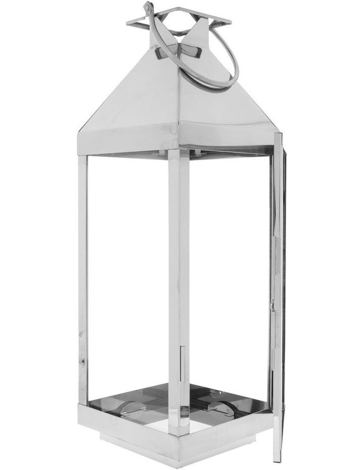 Stainless Steel & Glass Lantern 59cm image 2