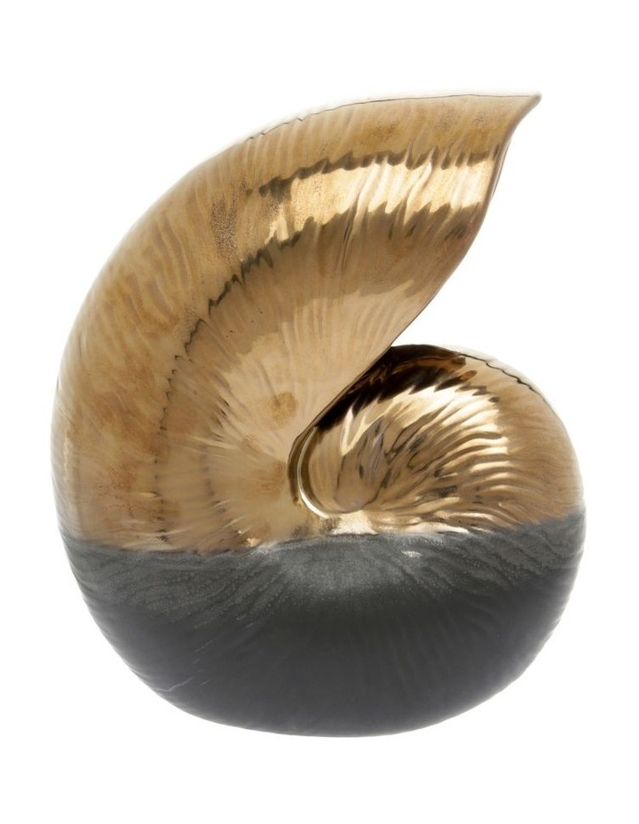 Textured Stoneware Shell Sculpture image 1