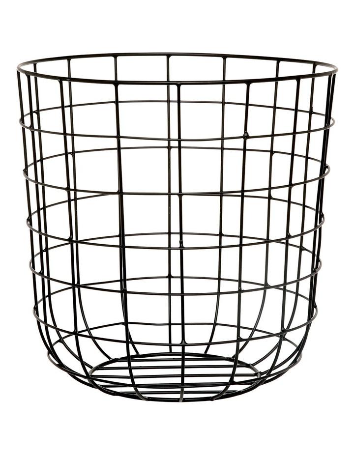 Metal Basket - Black image 1