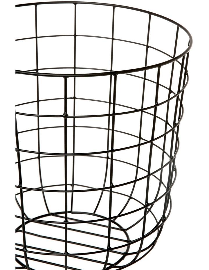Metal Basket - Black image 2