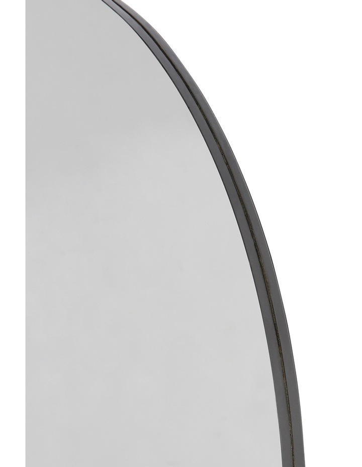 Vue Round Smoked Glass Mirror 50cm image 2