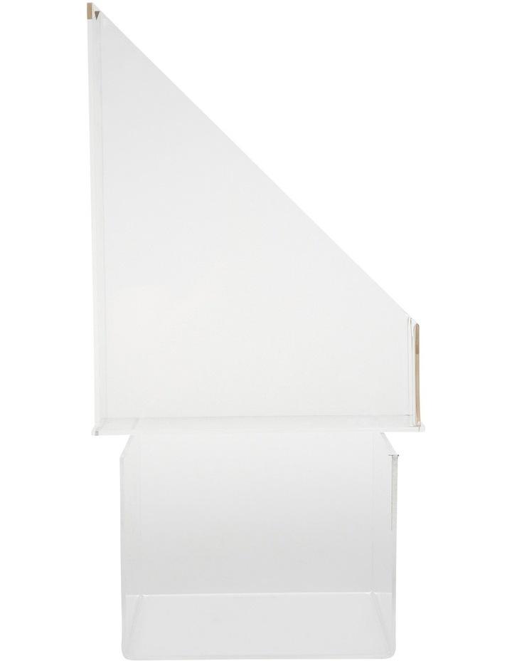 Gold Edge Acrylic File Holder image 2