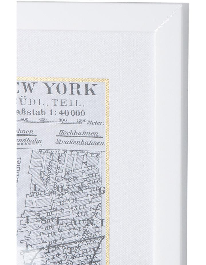 New York Framed City Map image 2