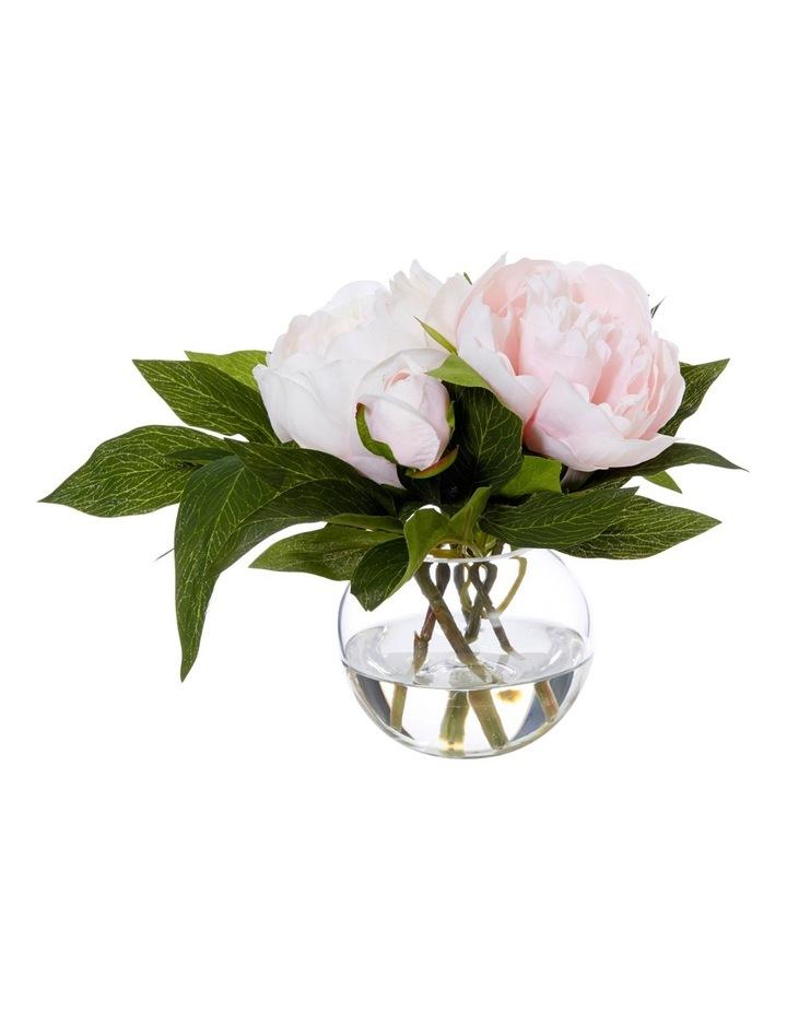 Peony Sphere Vase Pink image 1